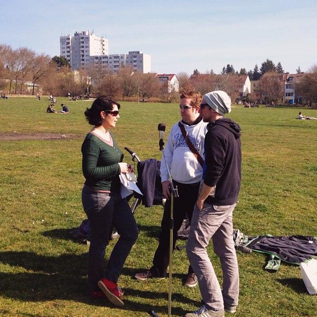 Aufnahme im Park