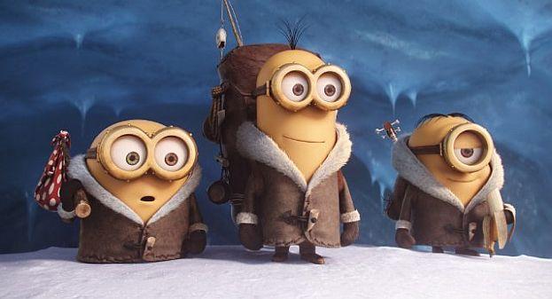 Bob, Kevin und Stuart (v.l.)